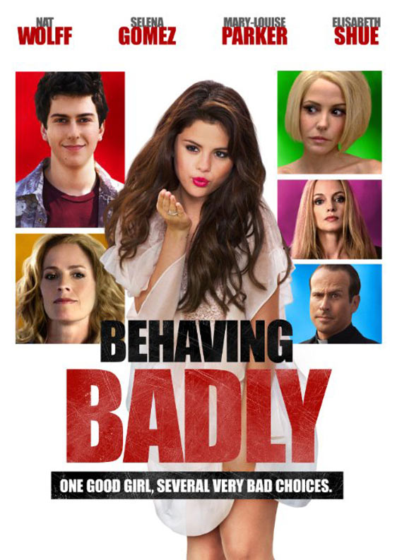 Behaving Badly Poster #2
