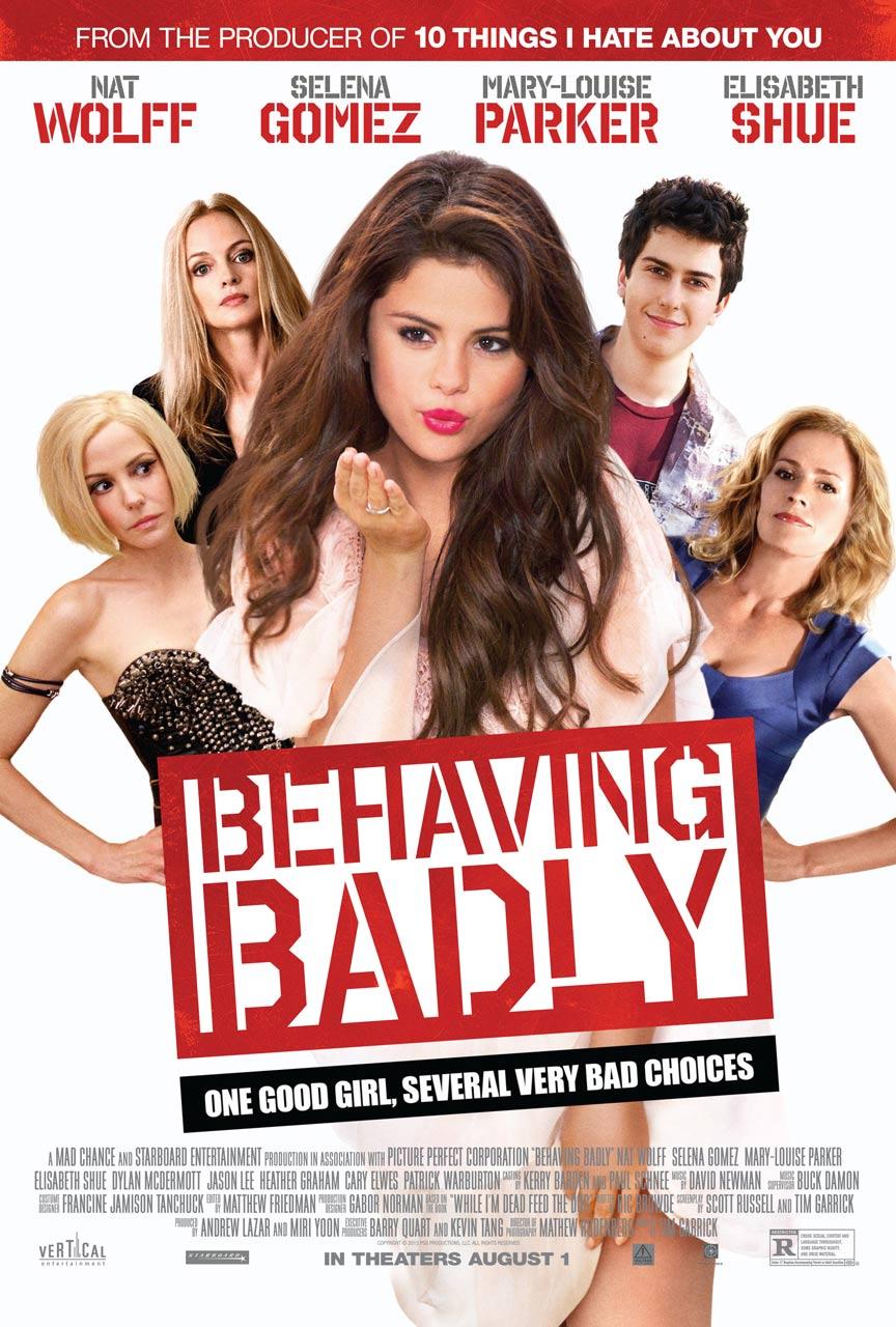 Behaving Badly Poster #1