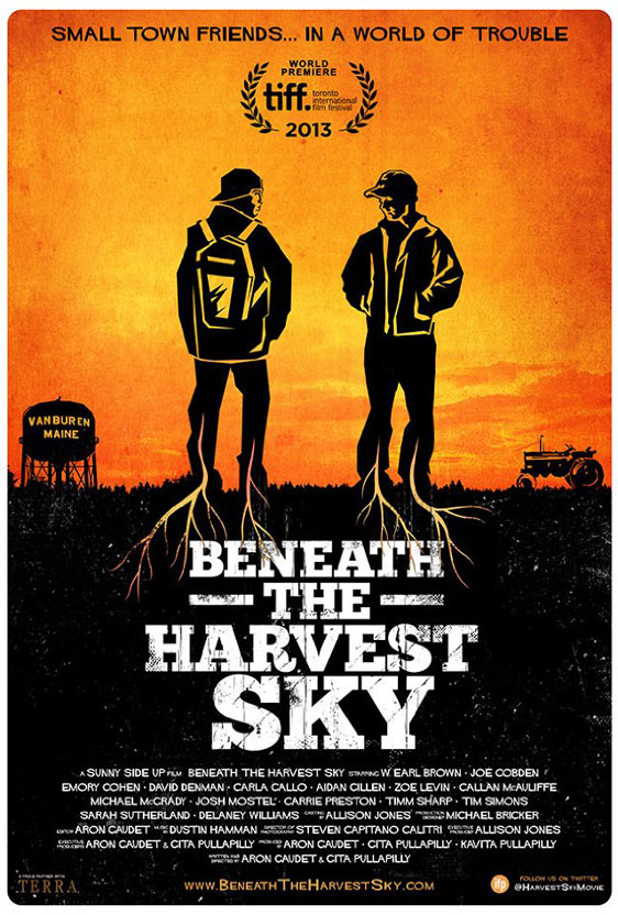 Beneath The Harvest Sky Poster #1