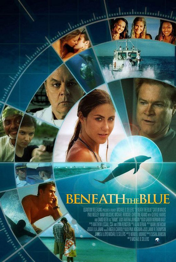 Beneath the Blue Poster #1