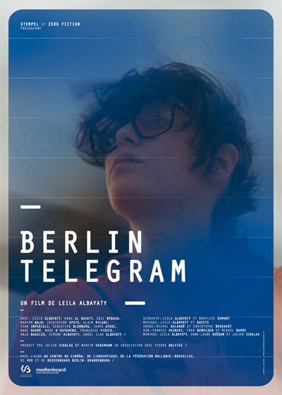 Berlin Telegram Poster #1