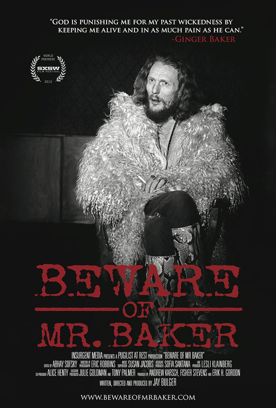 Beware Of Mr. Baker Poster #1