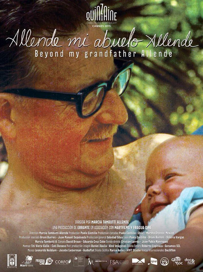 Beyond My Grandfather Allende Poster #1