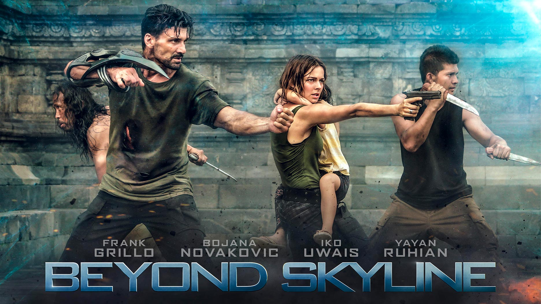 beyond skyline 2017 poster 1 trailer addict. Black Bedroom Furniture Sets. Home Design Ideas