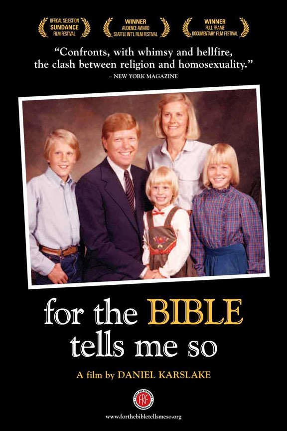 For the Bible Tells Me So Poster #1
