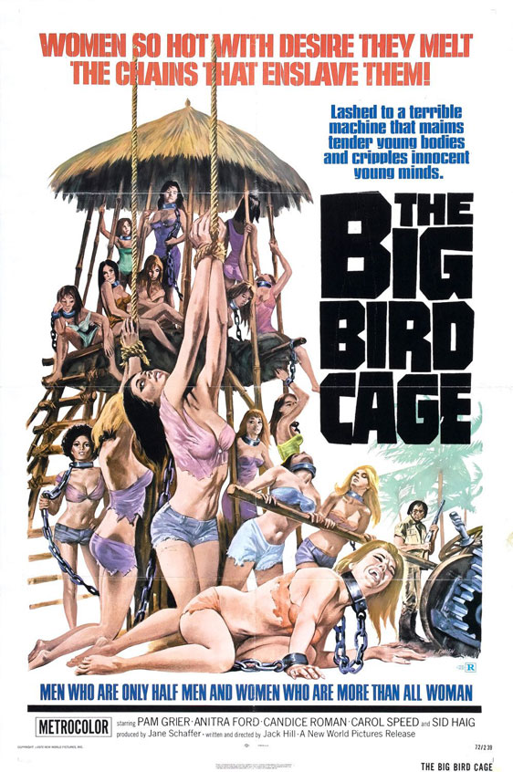 The Big Bird Cage Poster #1