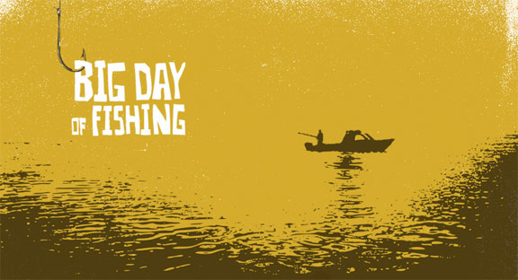 Big Day of Fishing Poster #1