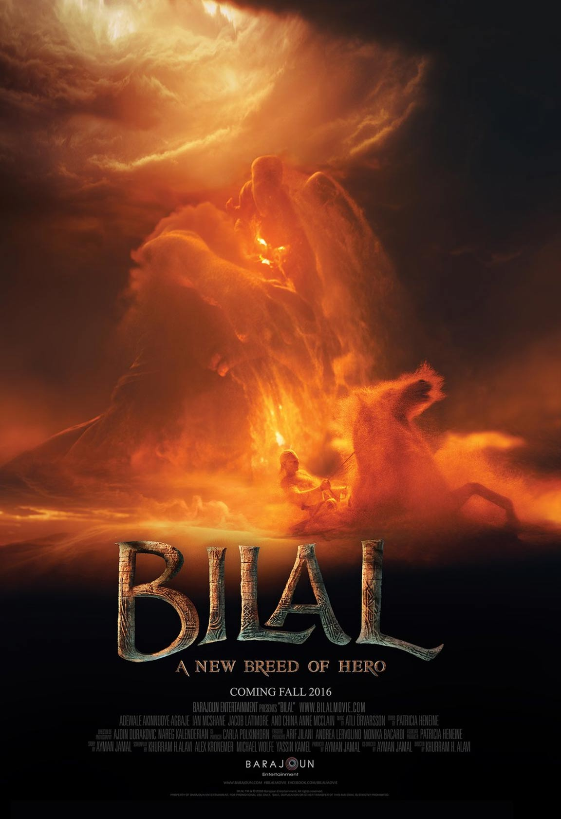 Bilal: A New Breed of Hero Poster #1