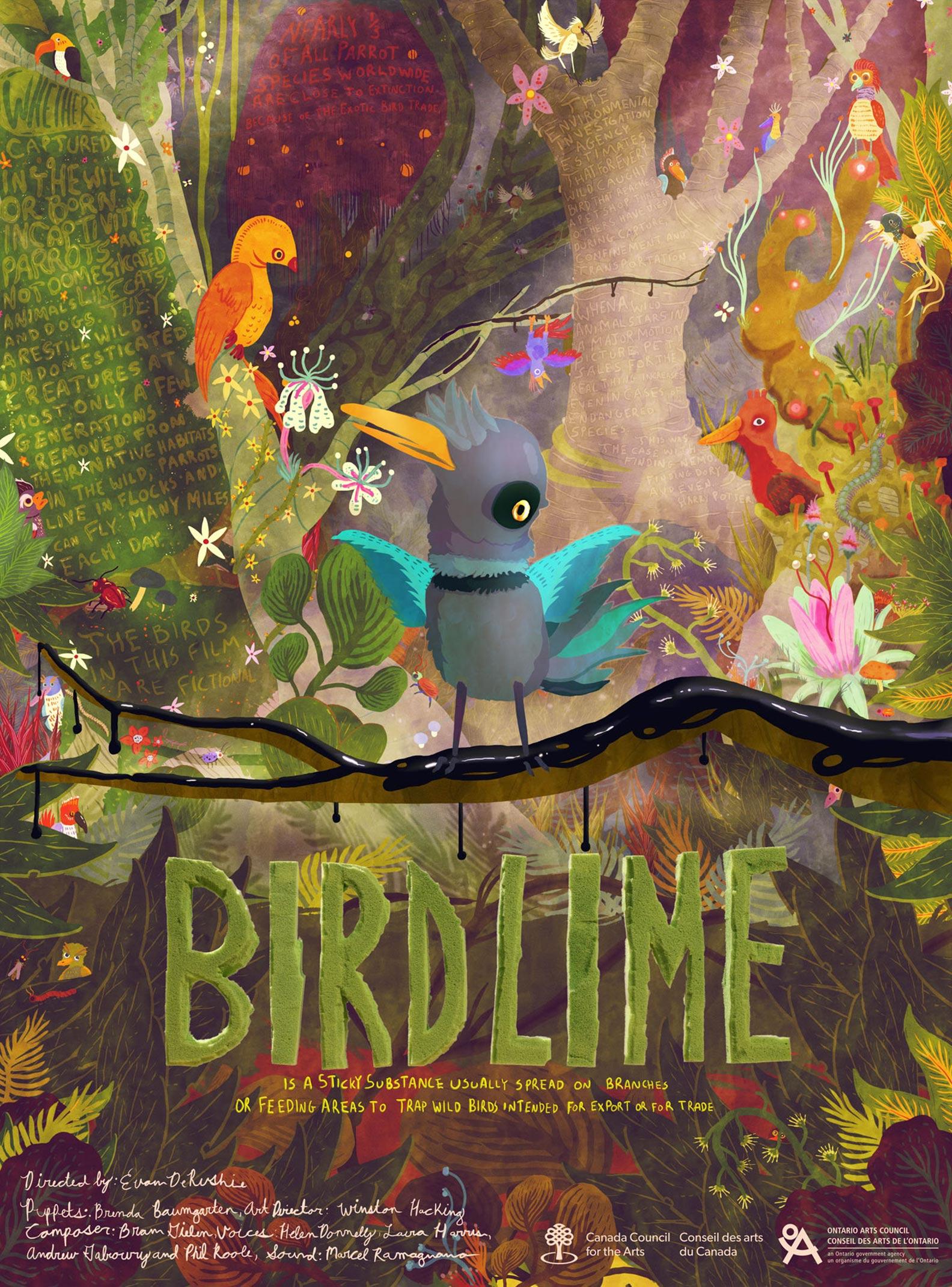 Birdlime Poster #1