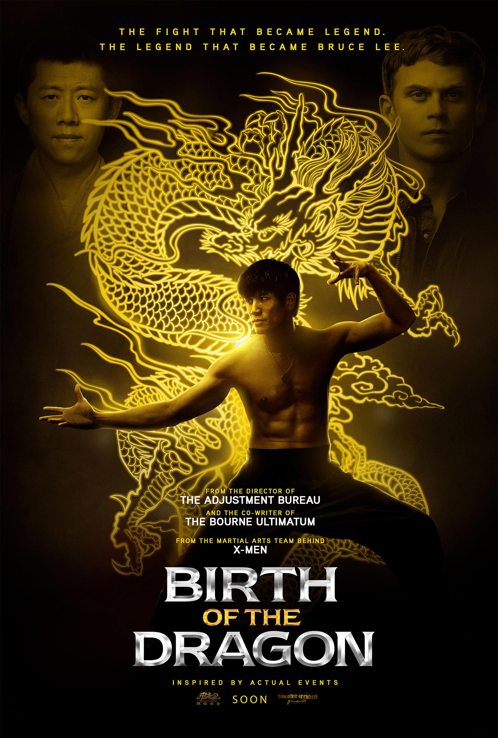 Birth of the Dragon Poster #1