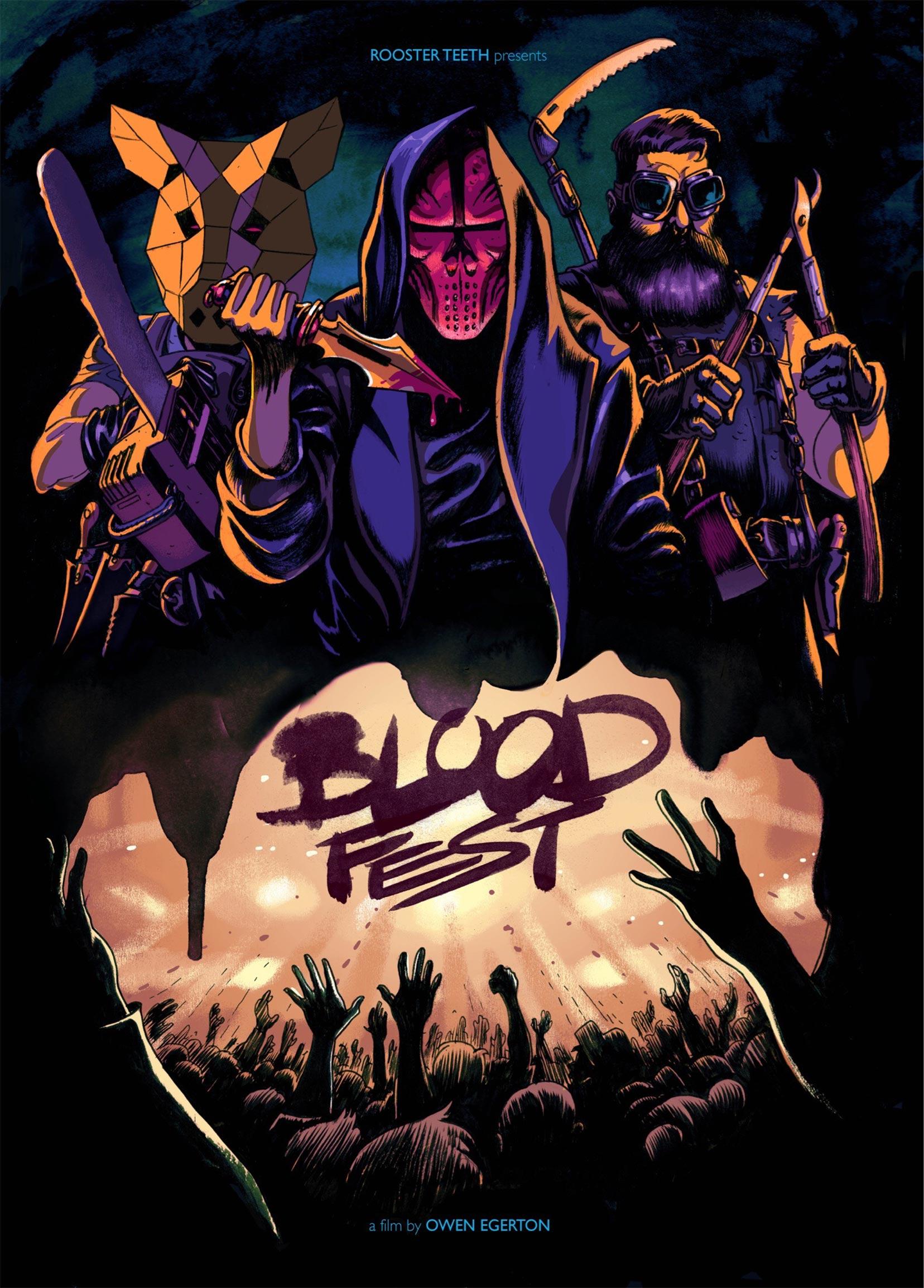 Blood Fest Poster #1