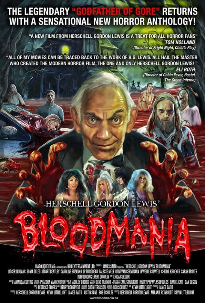 Herschell Gordon Lewis's BloodMania Poster #1