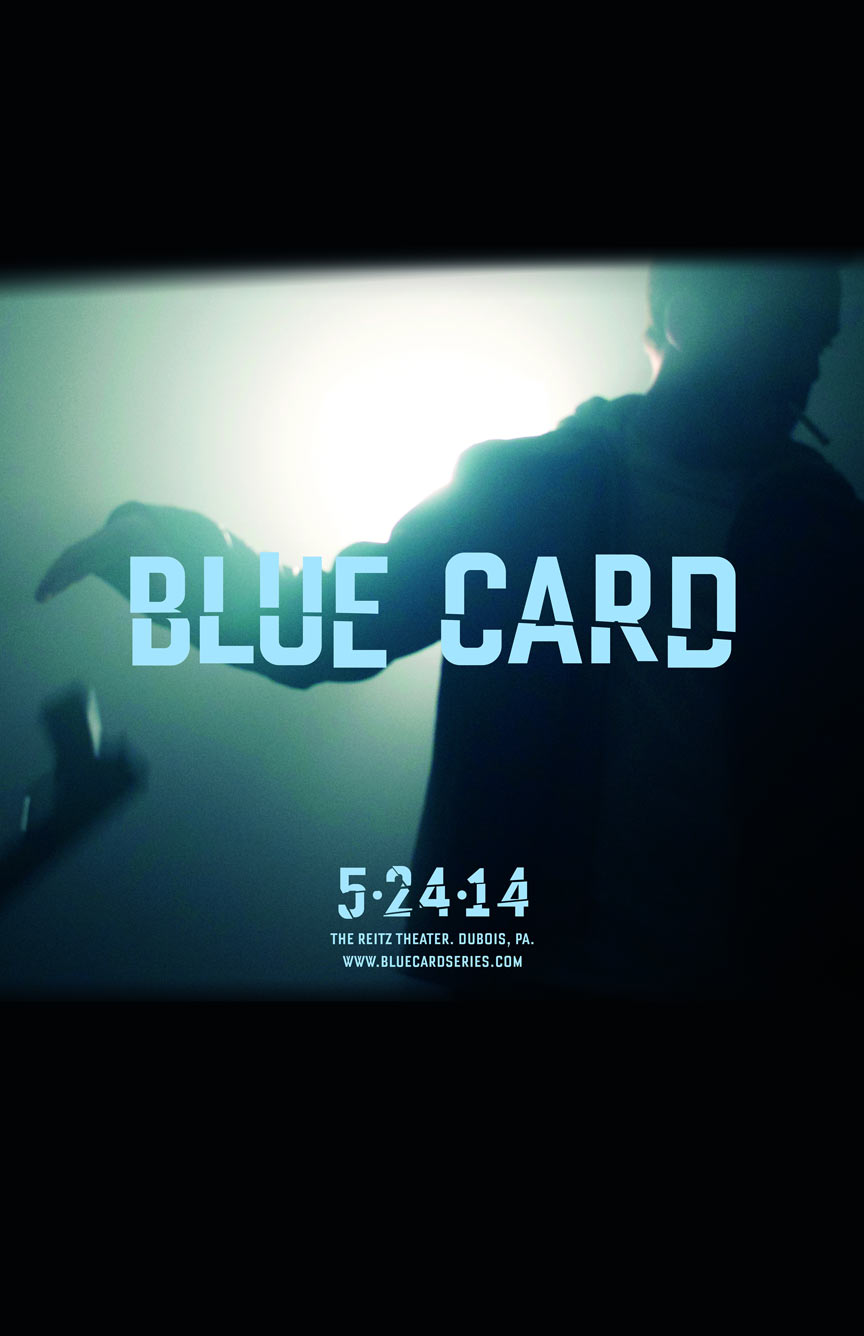 Blue Card Poster #1