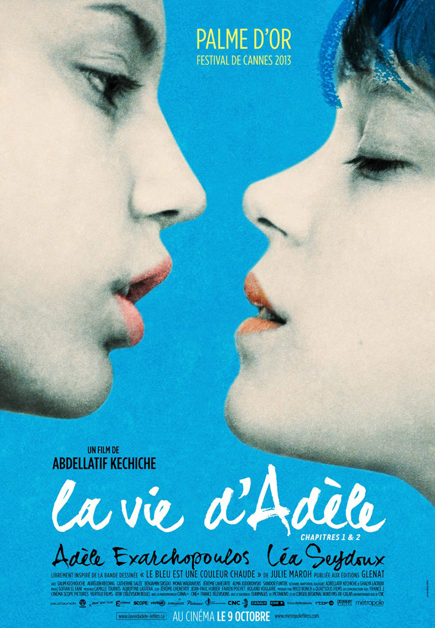 Blue is the Warmest Color Poster #2