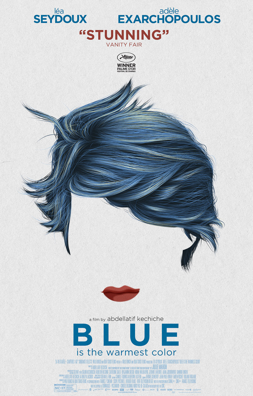 Blue is the Warmest Color Poster #4