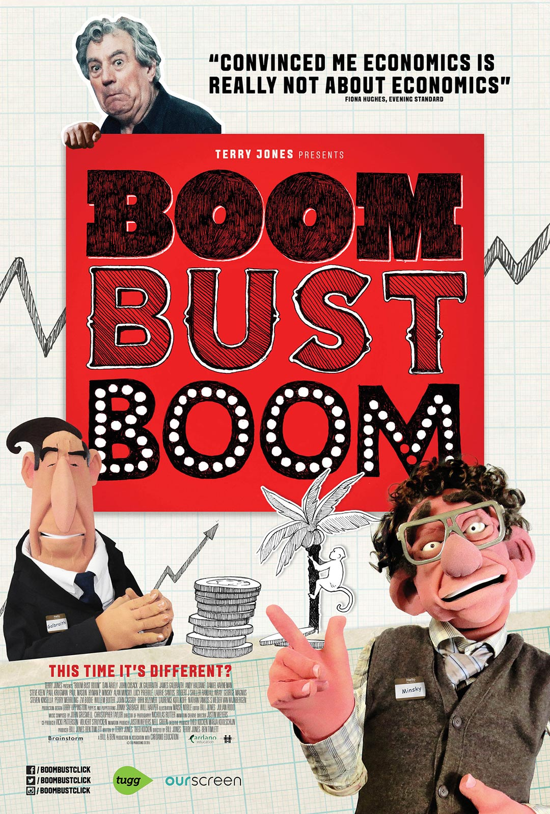 Boom Bust Boom Poster #1