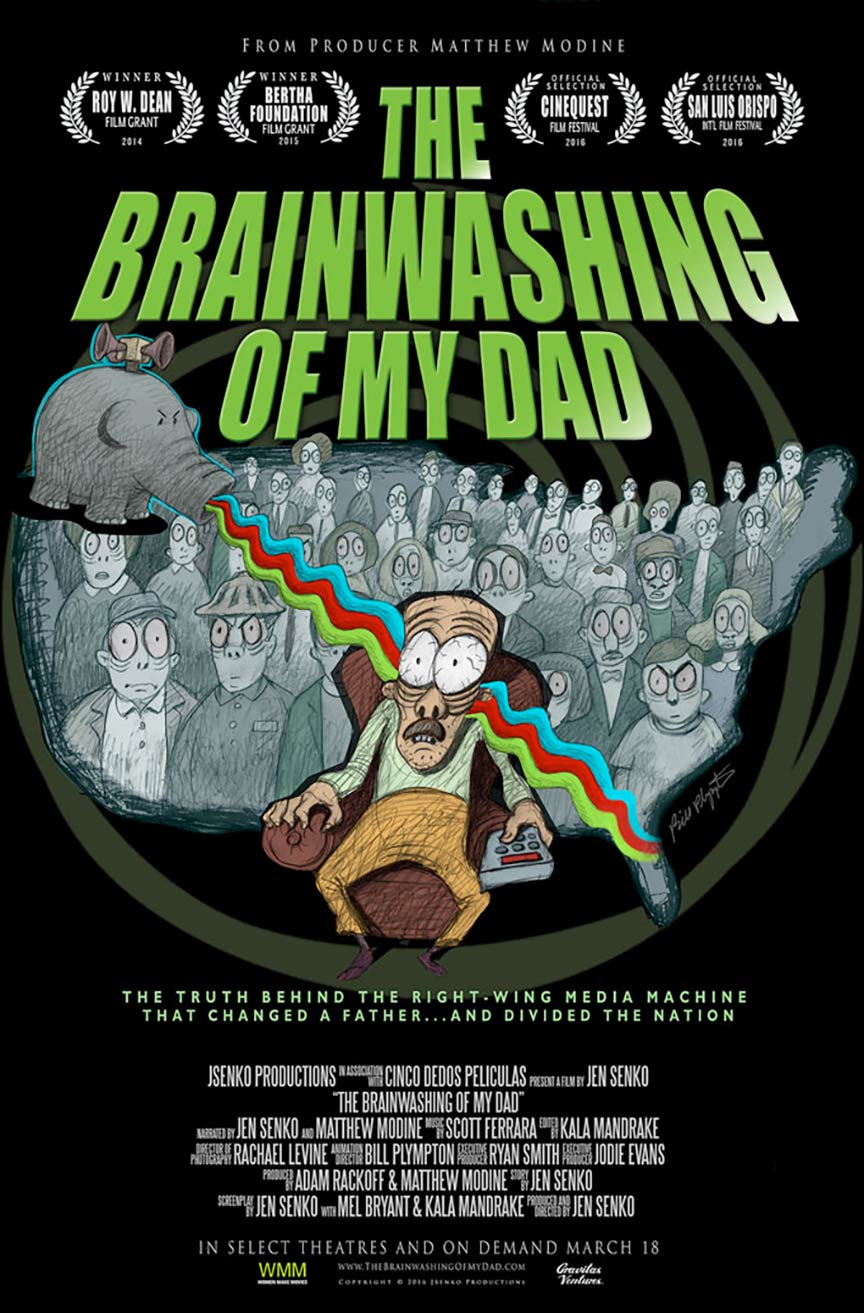The Brainwashing of My Dad Poster #1