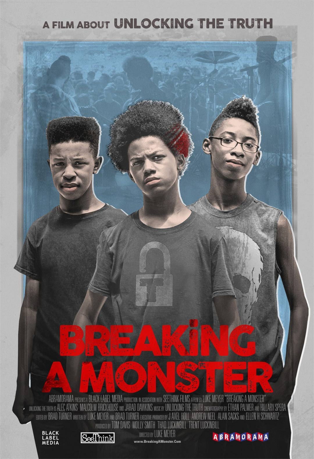Breaking a Monster Poster #1
