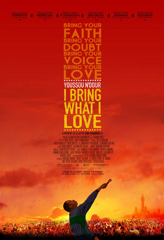 Youssou Ndour: I Bring What I Love Poster #2