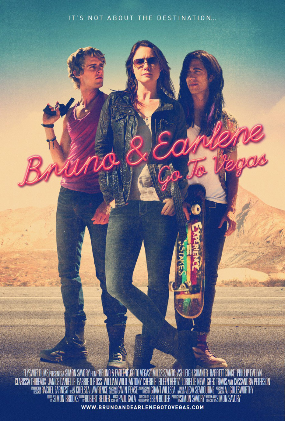 Bruno & Earlene Go to Vegas Poster #1