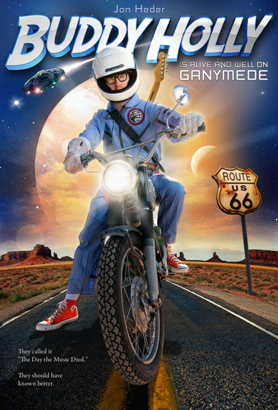 Buddy Holly is Alive and Well on Ganymede Poster #1
