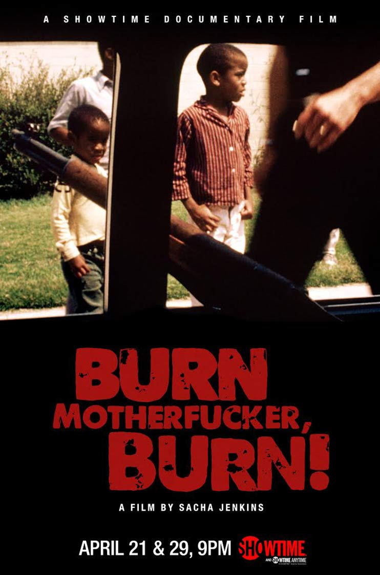 Burn Motherfucker, Burn! Poster #1