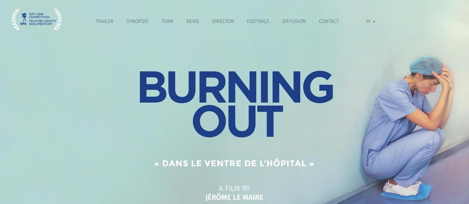 Burning Out Poster #1