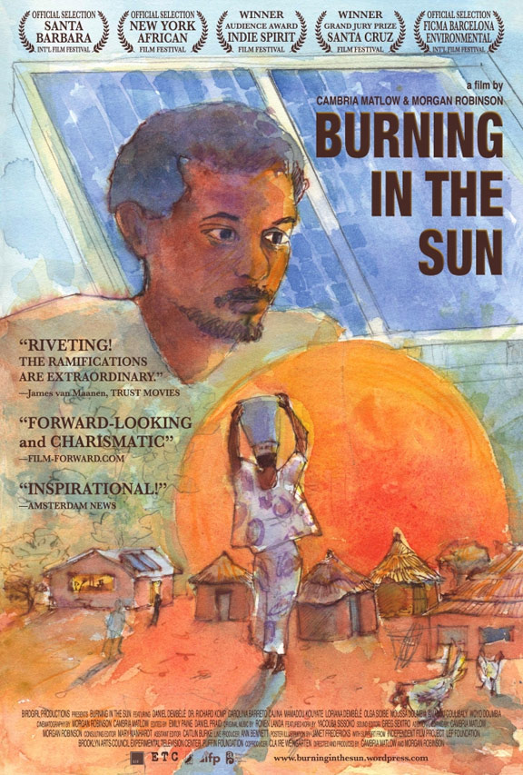 Burning in the Sun Poster #1