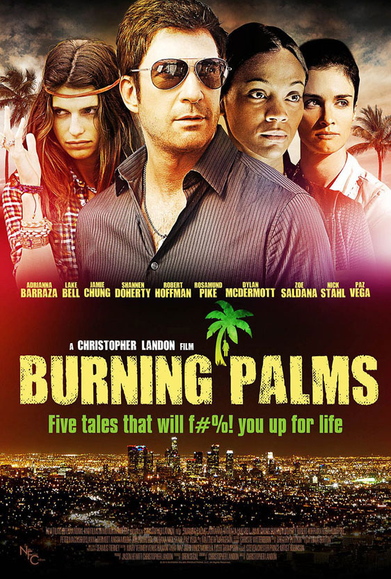 Burning Palms Poster #2