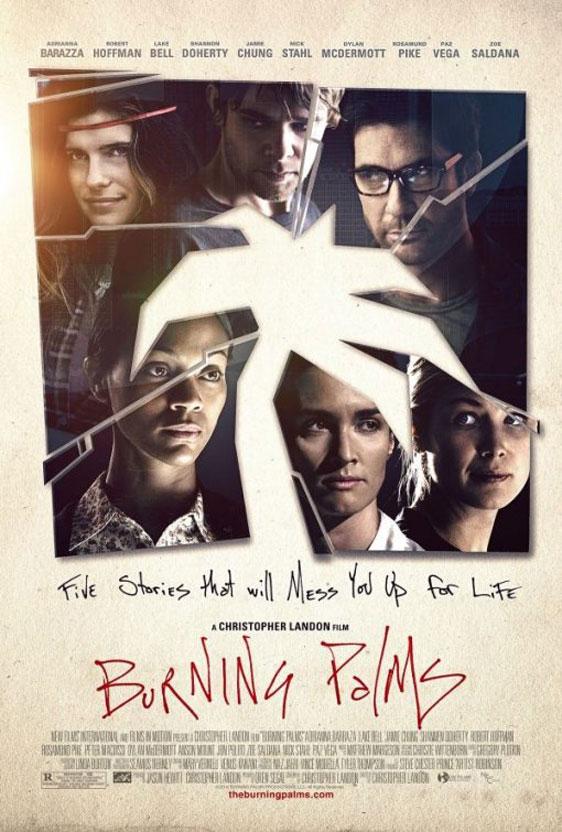 Burning Palms Poster #3