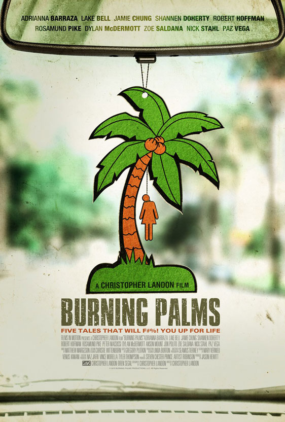 Burning Palms Poster #1