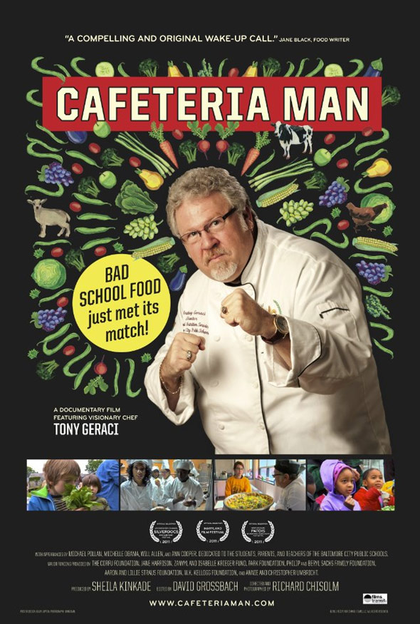 Cafeteria Man Poster #1