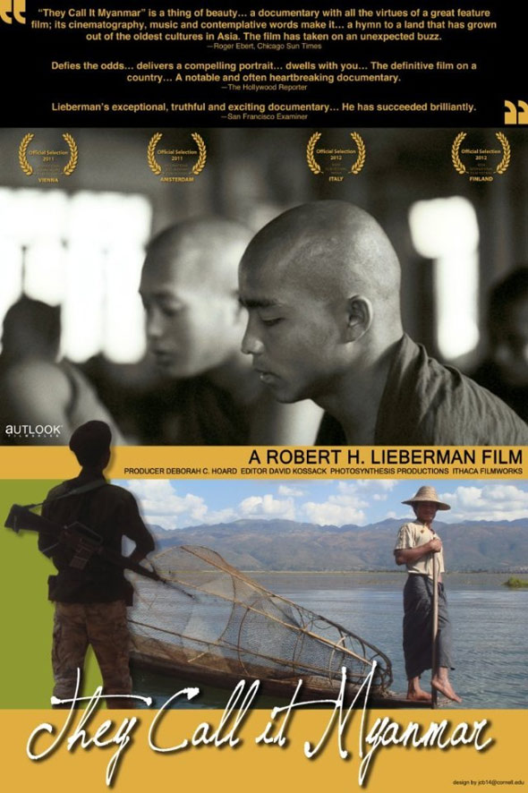They Call It Myanmar: Lifting the Curtain Poster #1