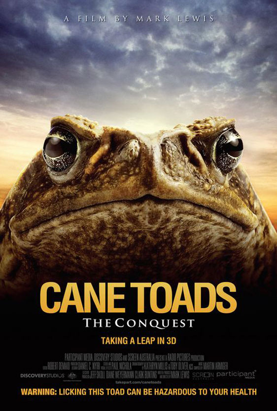 Cane Toads: The Conquest Poster #1