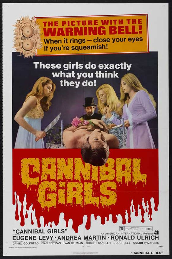 Cannibal Girls Poster #2