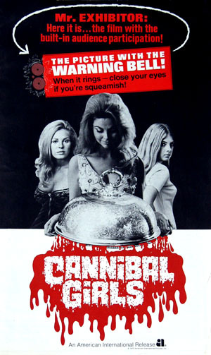 Cannibal Girls Poster #1