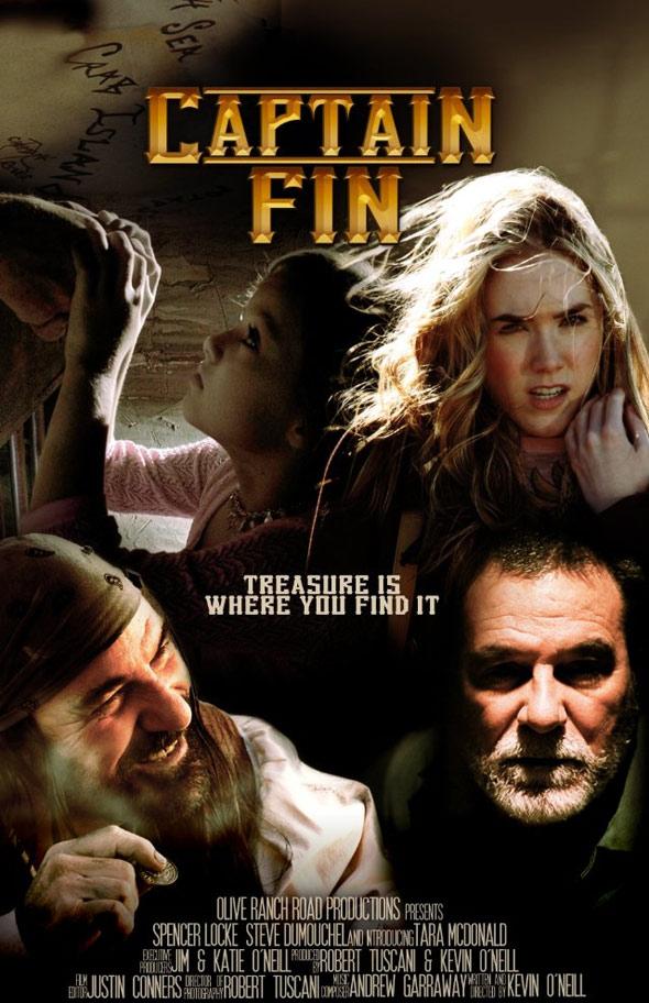 Captain Fin Poster #1