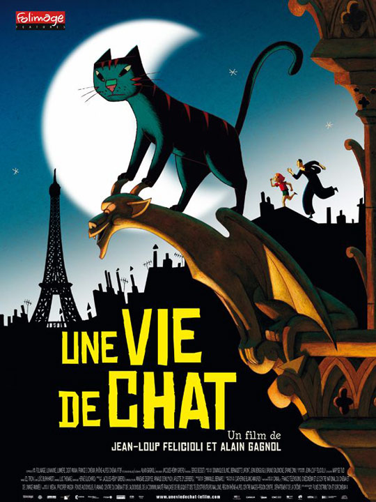 A Cat in Paris Poster #1