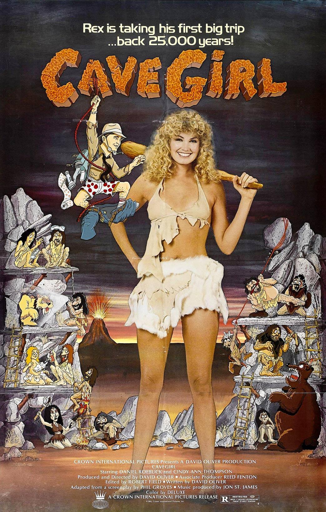 Cavegirl Poster #1
