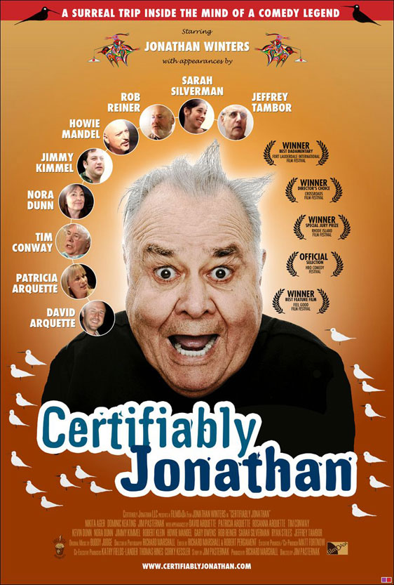 Certifiably Jonathan Poster #1