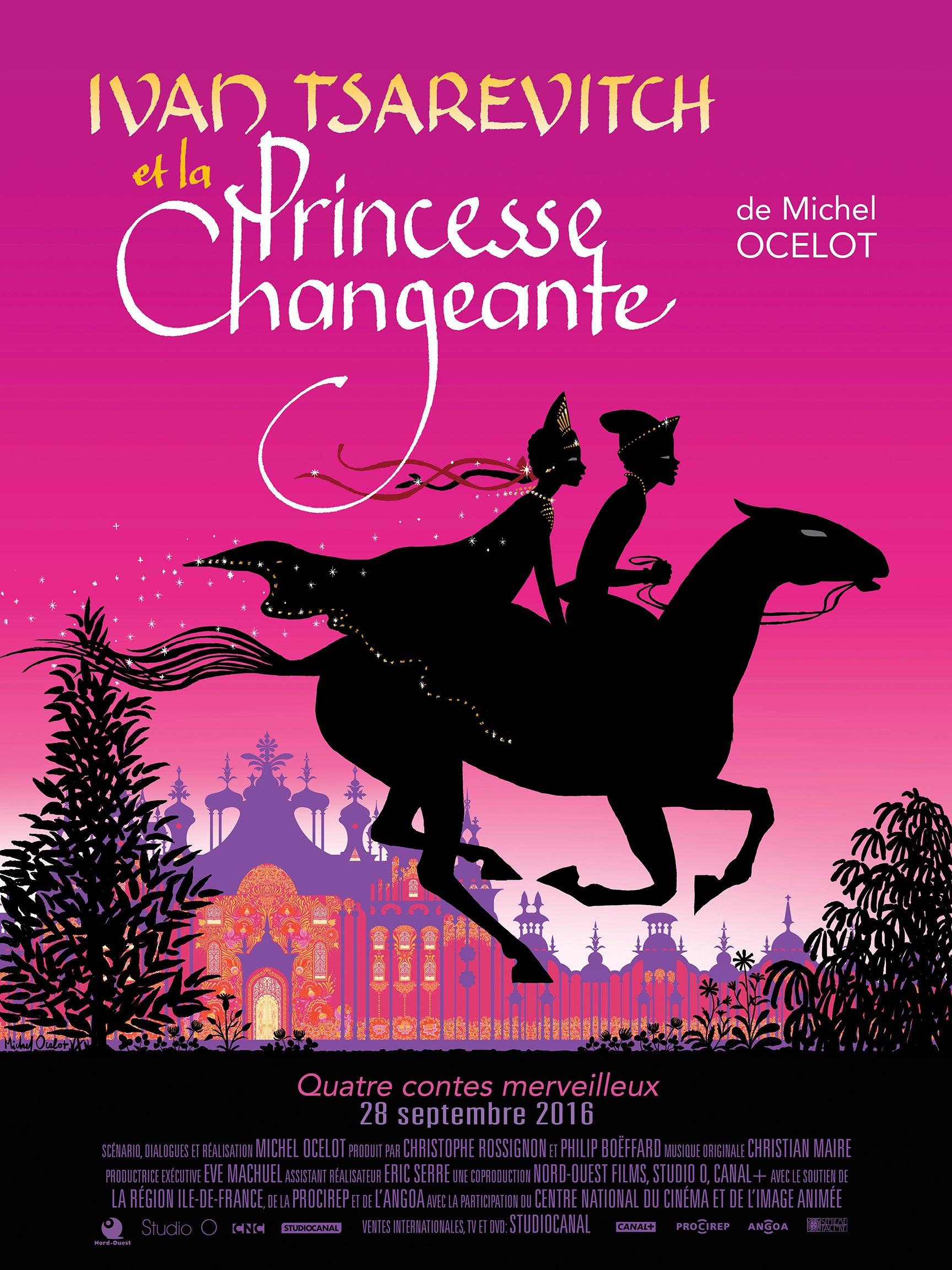 Ivan Tsarevitch and the Changing Princess: Four Enchanting Tales Poster #1