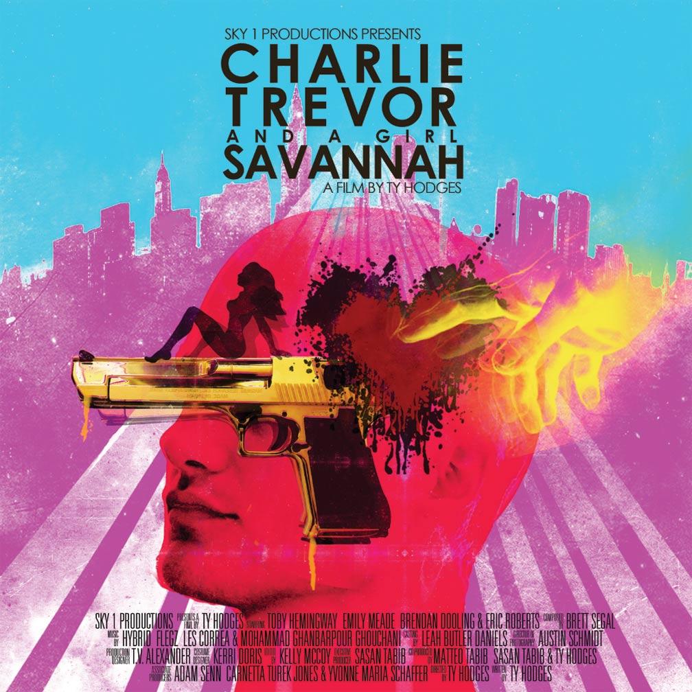 Charlie, Trevor and a Girl Savannah Poster #1