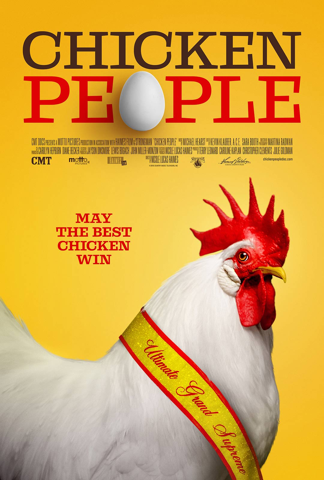 Chicken People Poster #1