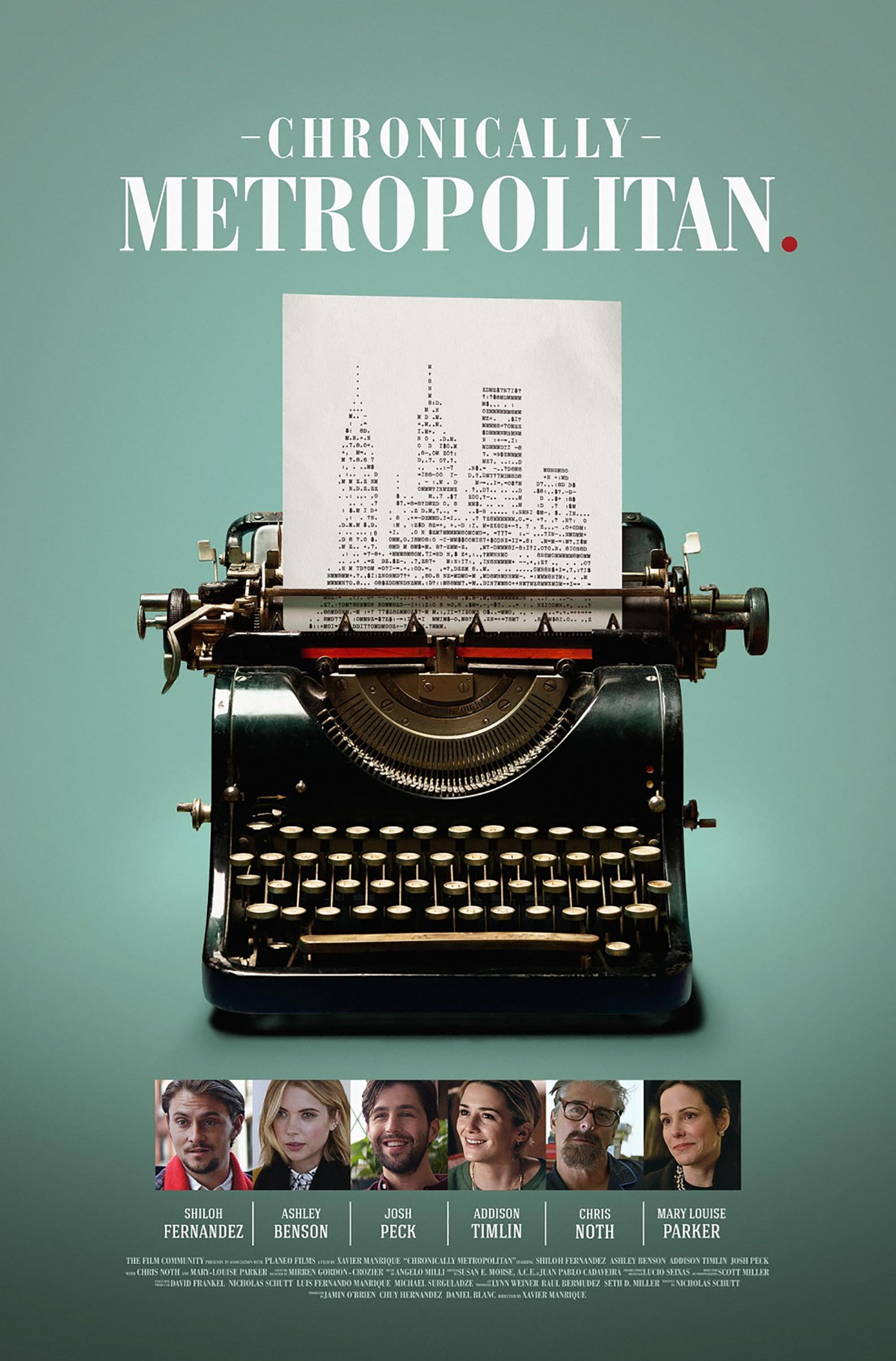 Chronically Metropolitan Poster #1