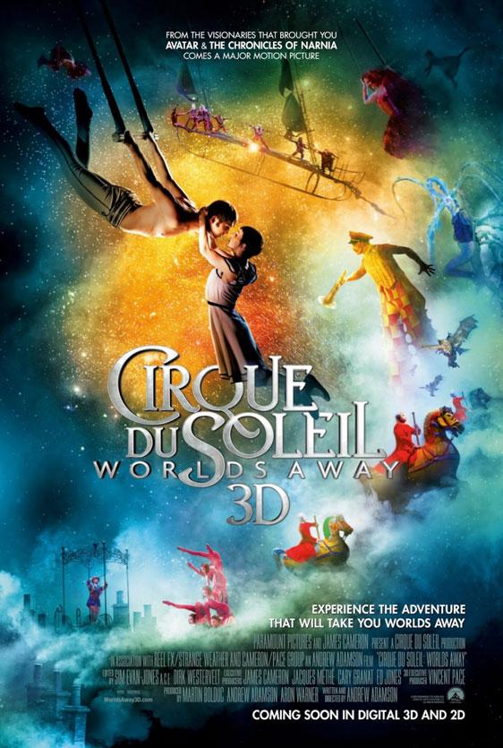 Cirque du Soleil: Worlds Away Poster #4