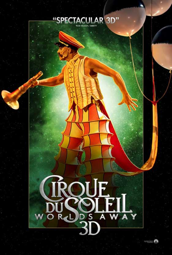 Cirque du Soleil: Worlds Away Poster #7