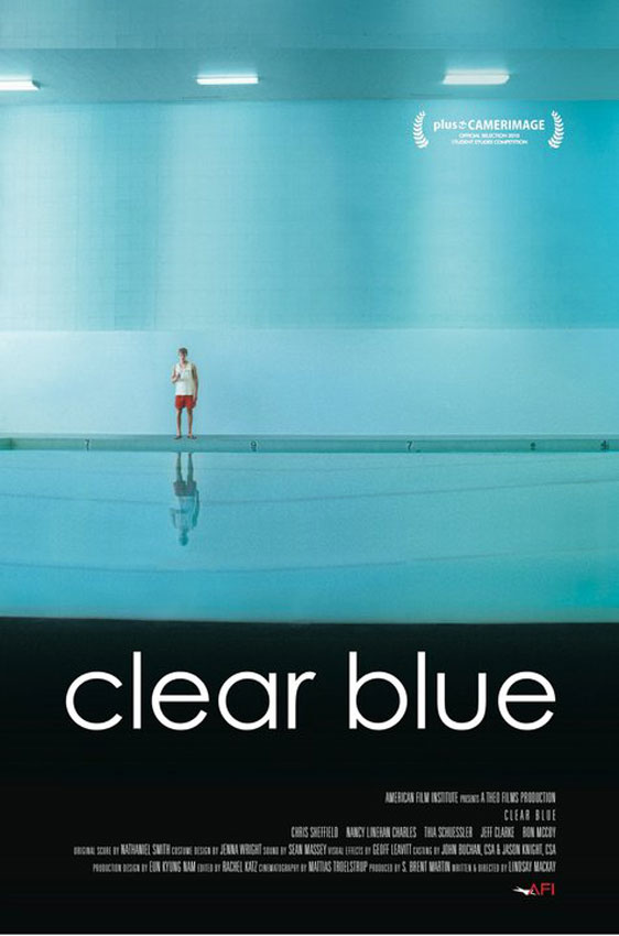 Clear Blue Poster #1