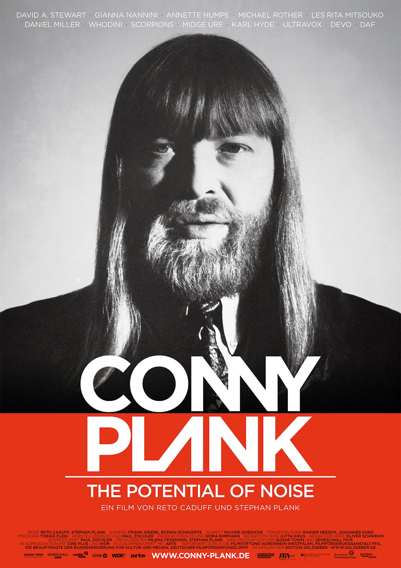 Conny Plank - The Potential of Noise Poster #1