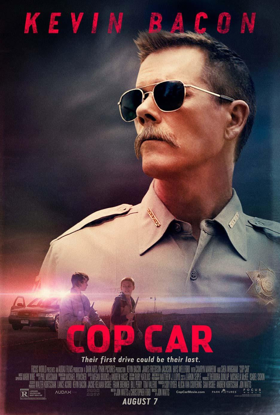 Cop Car Poster #1