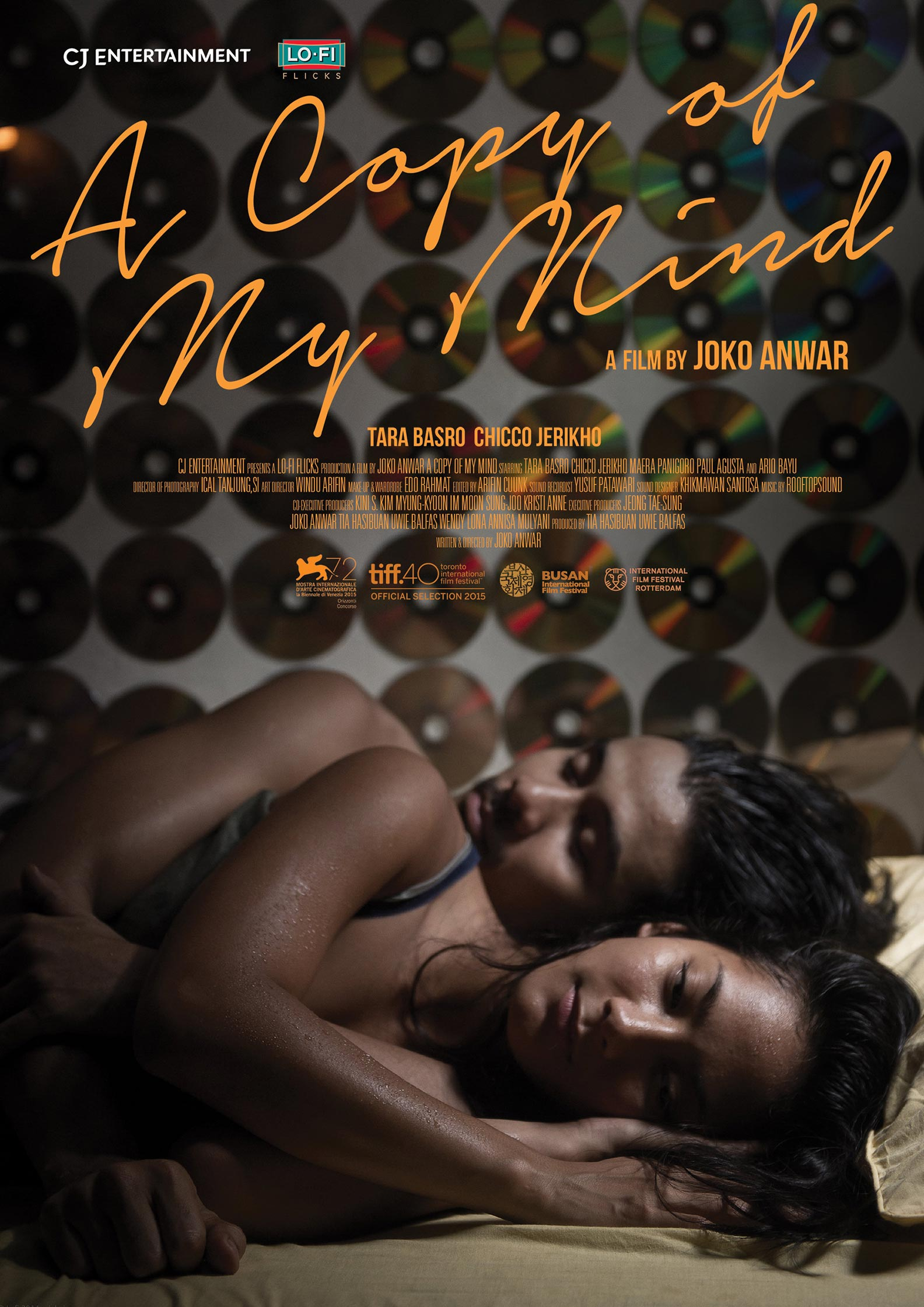 A Copy of My Mind Poster #1